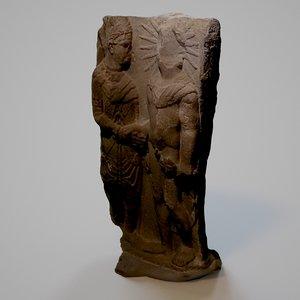 antique art historic 3D model