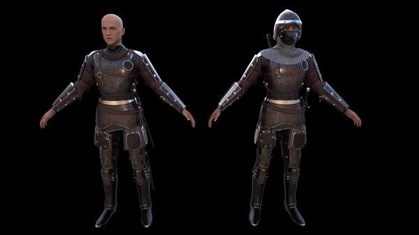 medieval 1 - 3D model