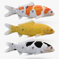 Koi Fishes Pack (Animated)
