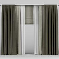 roman curtain model
