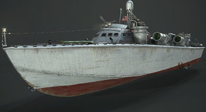 3D pbr higgins model