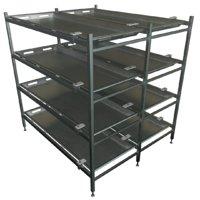 3D modular mortuary racks