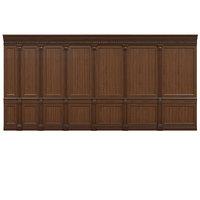 Threaded wood panels 014