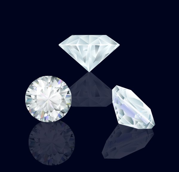 diamond beautiful 3D model