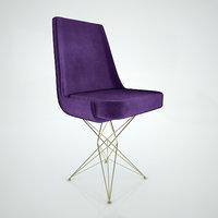 athena chair 3D model
