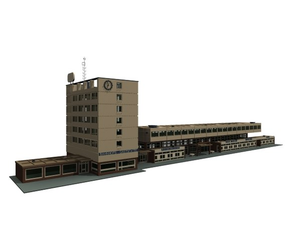 3D station german kehl