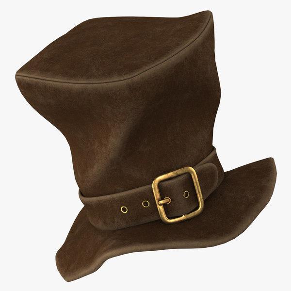 3D cartoon hat model