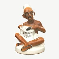 3D model shaker sculpture gandhi