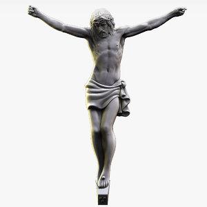 sculpture jesus 3D model