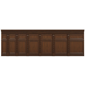 wood panels 3D model
