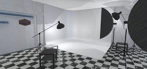 3D studio photo - interior