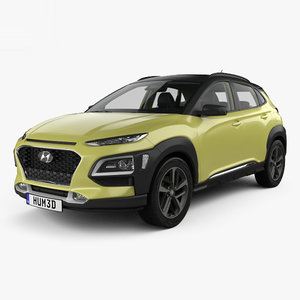 3D model hyundai kona 2018