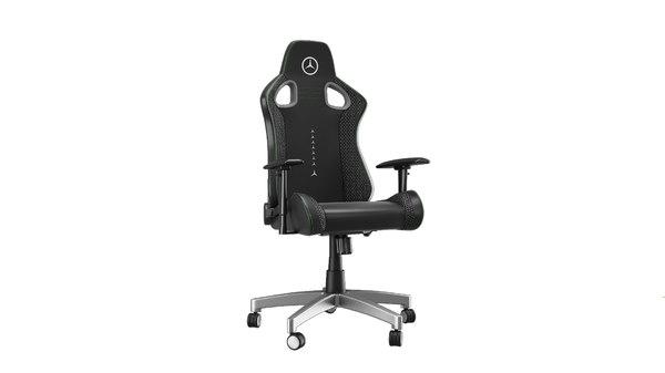 mercedes chair black 3D