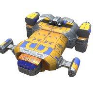 space bomber model