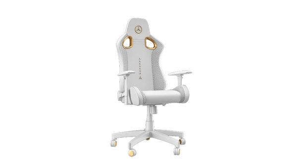 3D mercedes gamer chair gold
