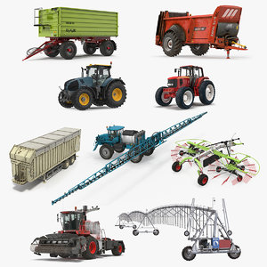 3D farm equipment 3 model