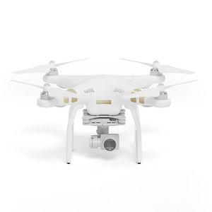 white drone model