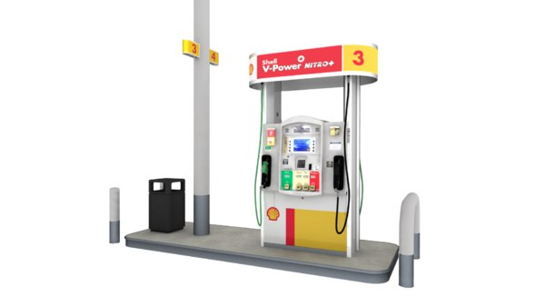 shell fuel dispenser model