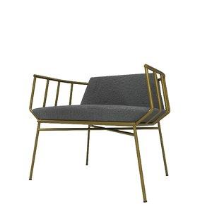3D model chair decoration