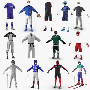 3D sport uniforms