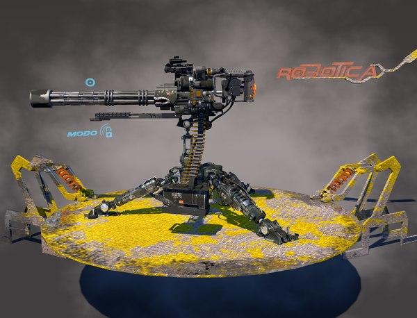 3D model m-134
