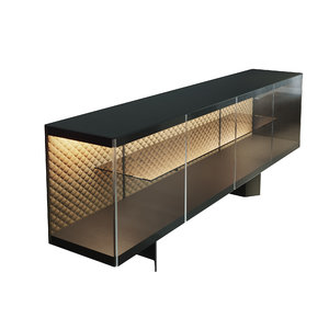 3D cattelan italia leather model