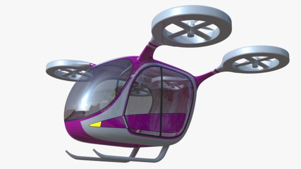 3D generic passenger drone