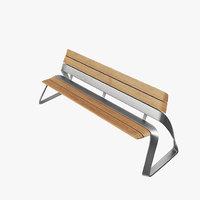 modern bench model