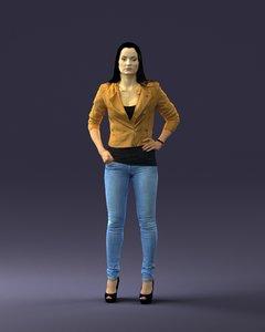 3d body scan woman fashion