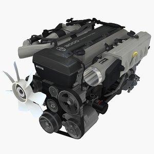 parts toyota 2jz gte 3D model