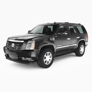 cadillac escalade 2007 3D model