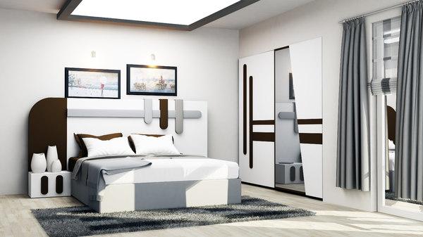 3D bedroom 1