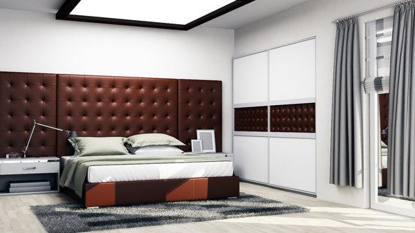 3D bedroom 3 model
