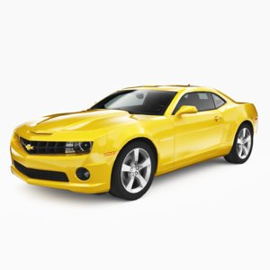 chevrolet camaro ss 2010 3D model