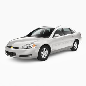 chevrolet impala 2006 3D model