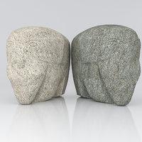 3D sculpture elephant model