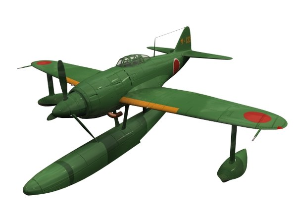 kyofu n1k kawanishi 3D model