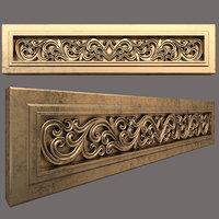 3D model mould decoration