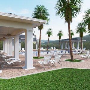 3D club house