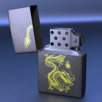 lighter light 3D model