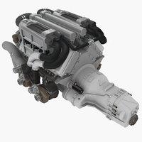 Bugatti W16 8.0L engine