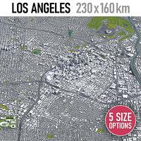 los angeles - city 3D model