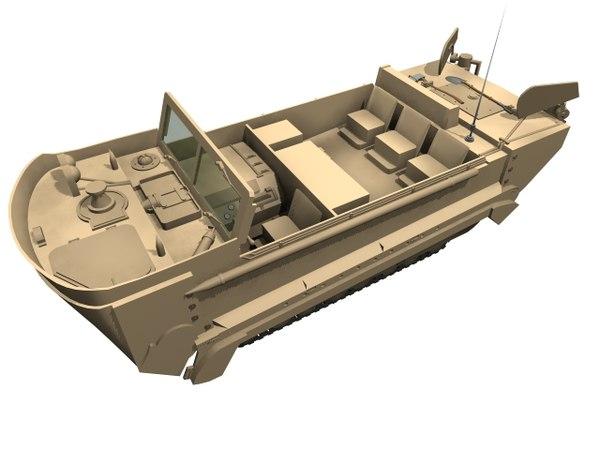 army m29 amphibious 3D model