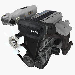 parts toyota 4a-ge bluetop model