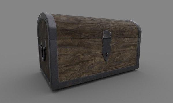 3D chest pbr model