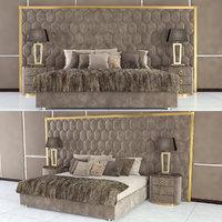 fur bed dv home 3D model