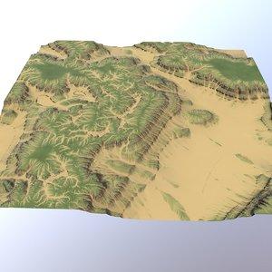land landscape scape 3D