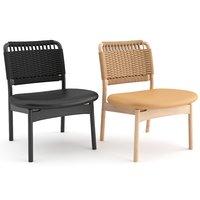 3D model chairs saga lounge ariake