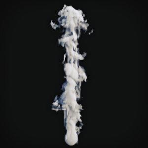 3D smoke 6 model