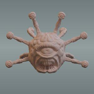 sculpt beholder model